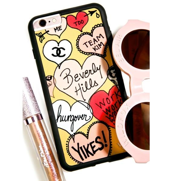 Wildflower LA Things iPhone Case