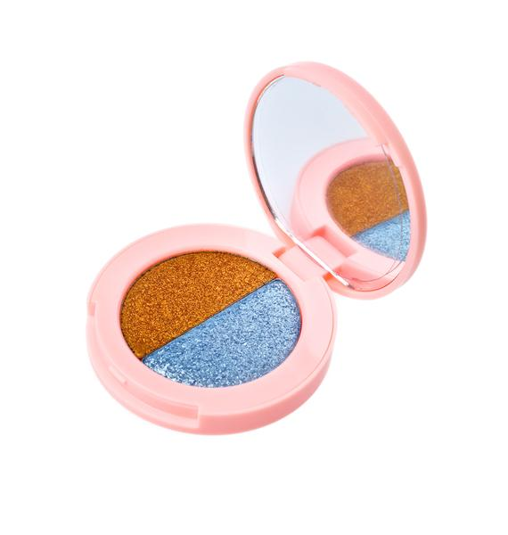Lime Crime Gilded Carriage/Glass Slipper Superfoil Eyeshadow Duo
