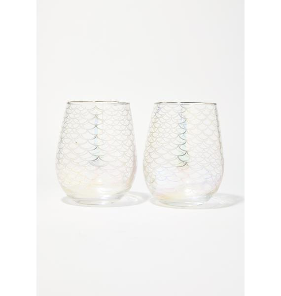 Pour Me Pinot Cocktail Glasses