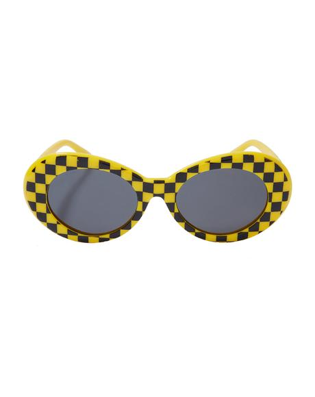 Taxi Cab Nevermind Sunglasses