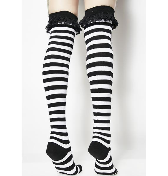 Killstar Beetle Long Socks