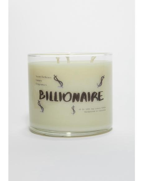 Billionaire Signature Collection 3 Wick Candle