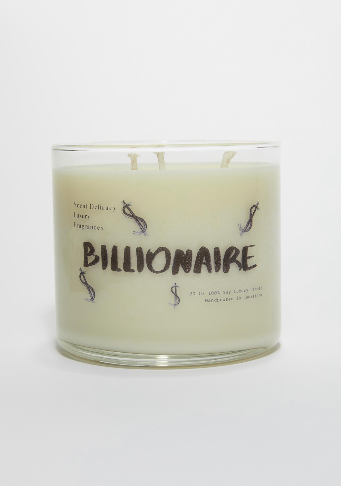 Scent Delicacy Billionaire Signature Collection 3 Wick Candle
