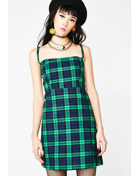 New Kid Plaid Dress