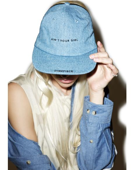 Ain't Your Girl 3 Panel Hat