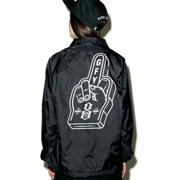Rebel8 Go Fuck Yourself Coaches Jacket