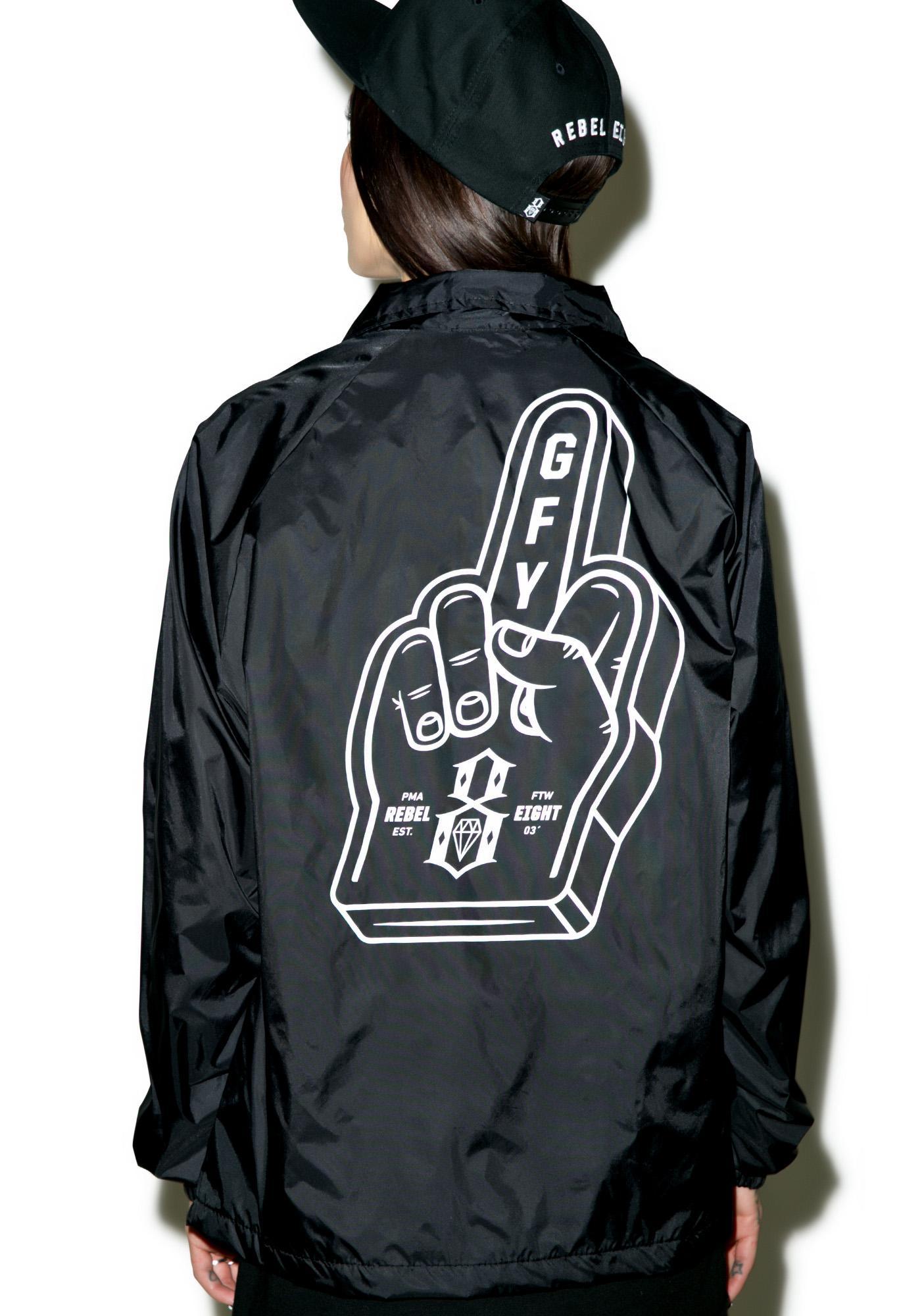 Rebel8 Go Fuck Yourself Coaches Jacket