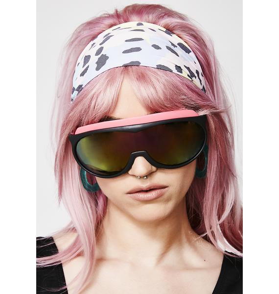 Onyx Under The Shade Shield Sunglasses