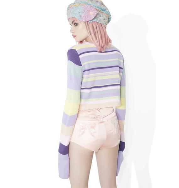 Sugar Thrillz Sugarplum Visionz Cropped Sweater