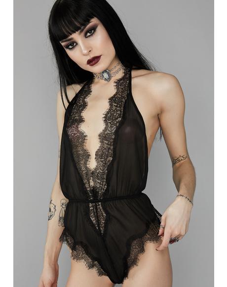 Solemnly Swear Lace Bodysuit