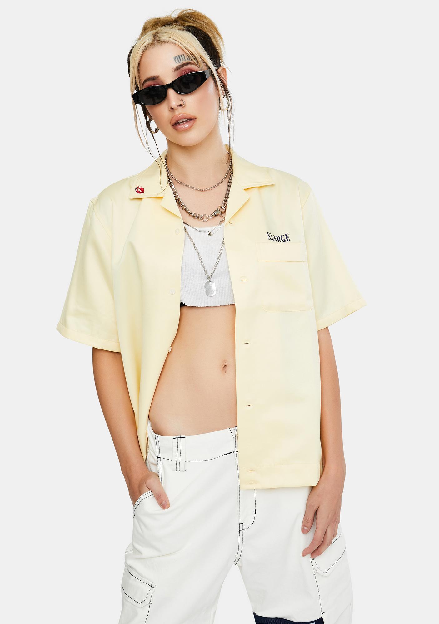 XLARGE Open Collar Casino Shirt