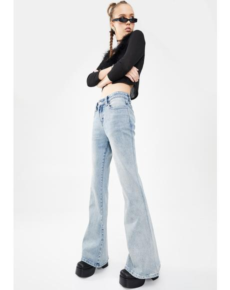 Undercover Star Flare Jeans