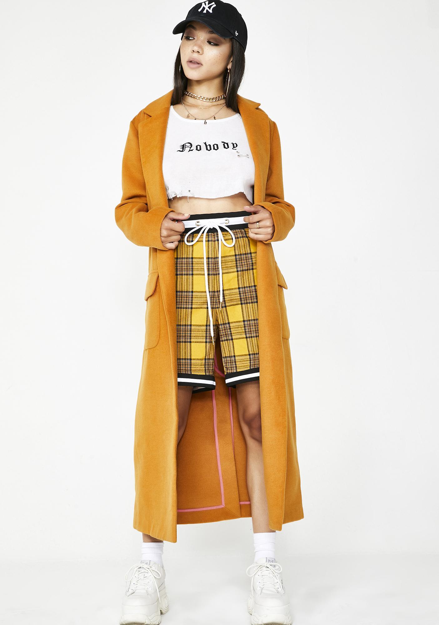 Check My Swag Plaid Shorts
