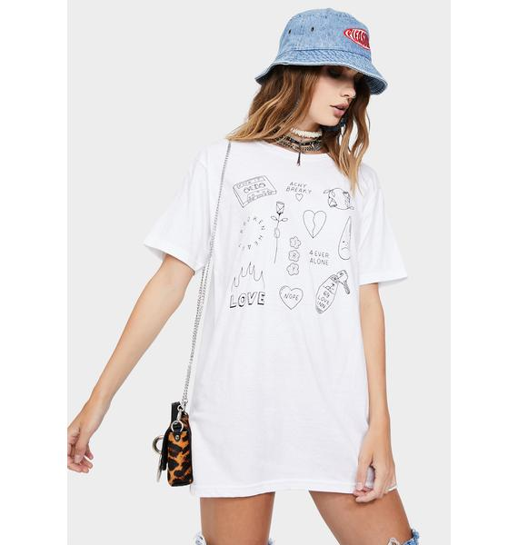 MNKR Achy Breaky Flash Graphic Tee