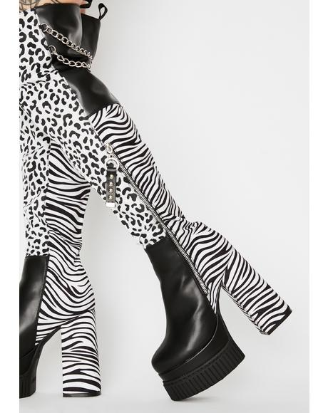 Wild Love Thigh High Boots