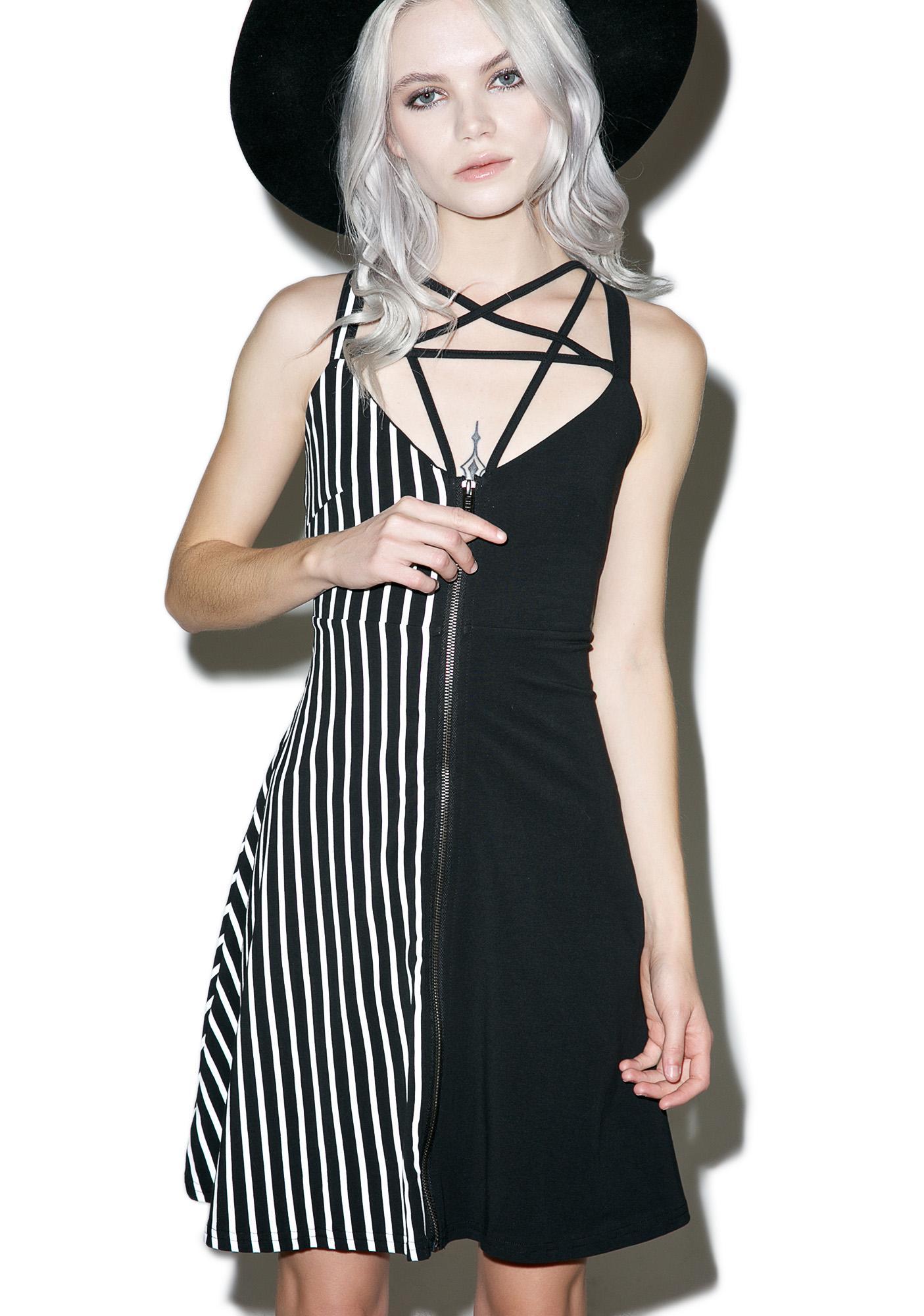 Killstar Sera Star Harness Dress