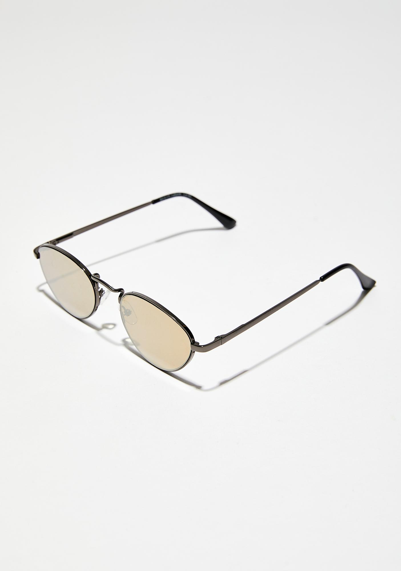 In The Mood Mirrored Sunglasses