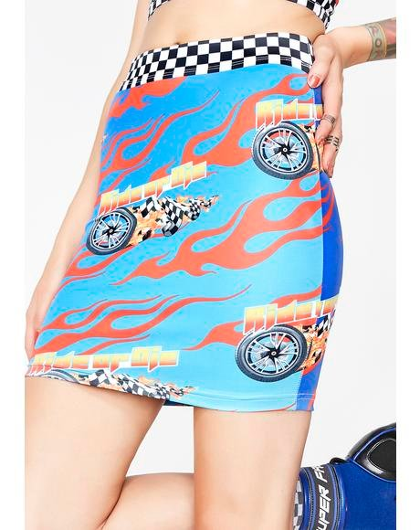 Ride Or Die Chick Skirt