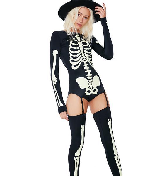 Dolls Kill Voodoo Glow Skull Costume