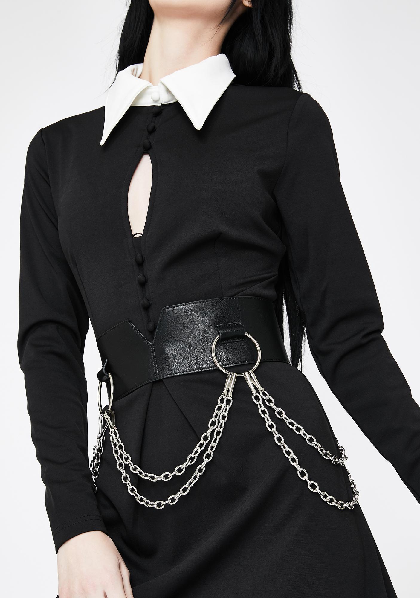 Disturbia Sanction O-Ring Chain Belt