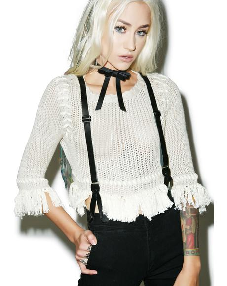 Denver Knit Crop Top