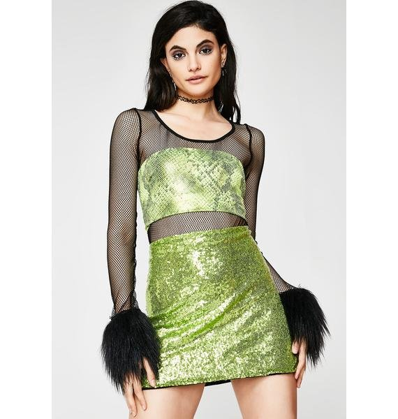 O Mighty The Poison Ivy Skirt