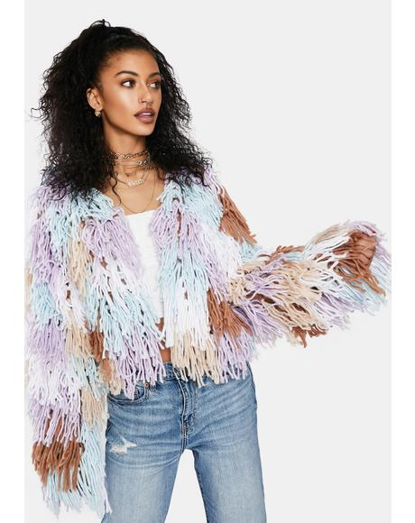 A Little Loving Fringe Jacket