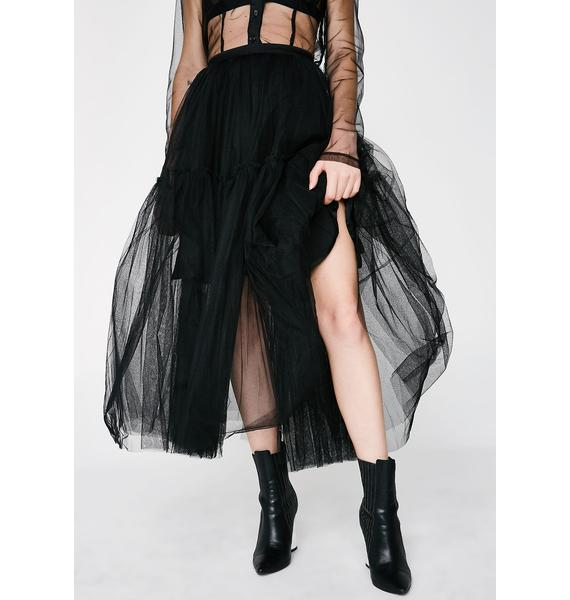 Glamorous Make Me Twirl Tulle Skirt