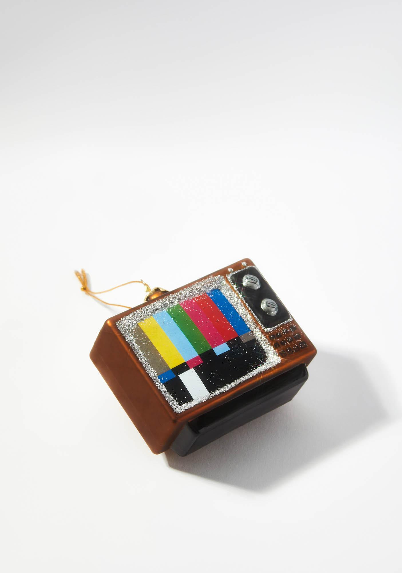 Life In Technicolor Vintage Television Ornament