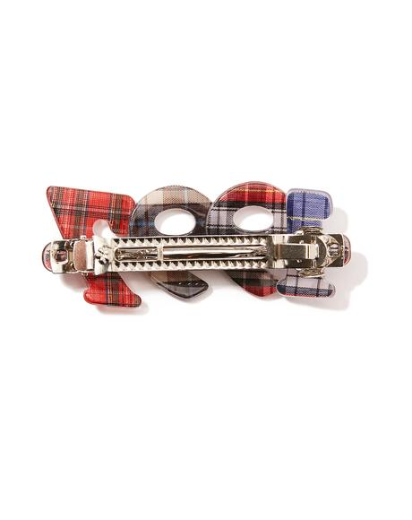 Gwen Plaid Barrette Set