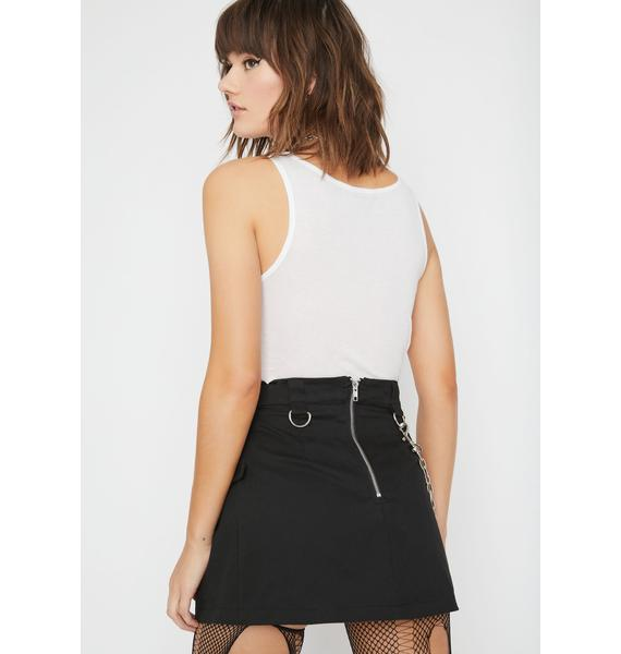 Current Mood Feel The Noize Mini Skirt