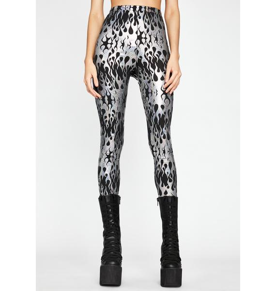 Ravetopia Fuse Printed Leggings