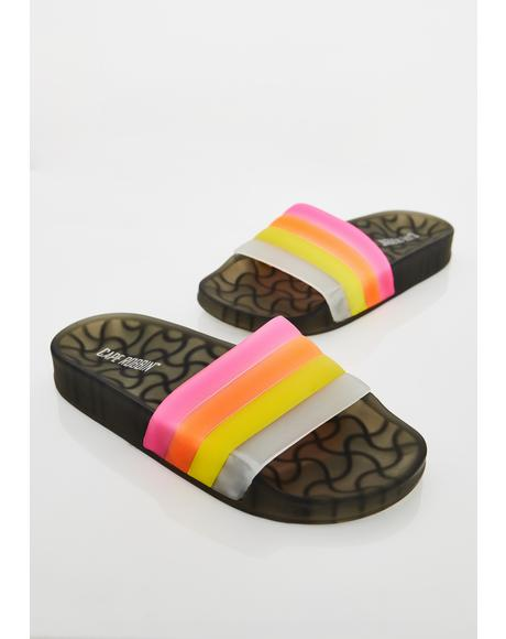 Crime Glow Jelly Slides