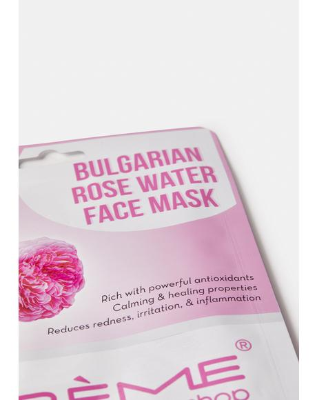 Bulgarian Rose Water Face Mask