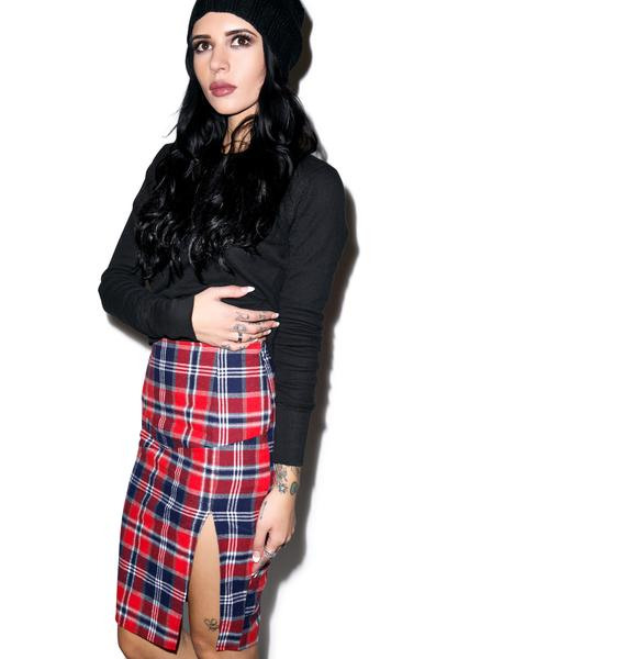 FKA Plaid Skirt
