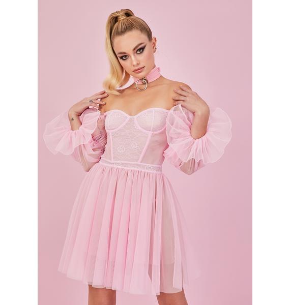 Sugar Thrillz Mystic Fairytale Lace Tulle Dress