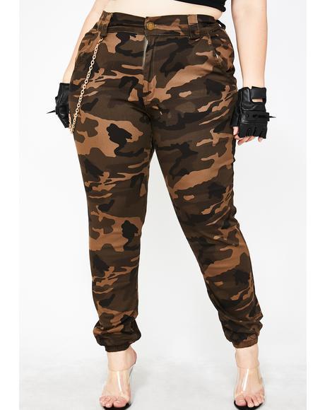 Army In Flight Cargo Pants