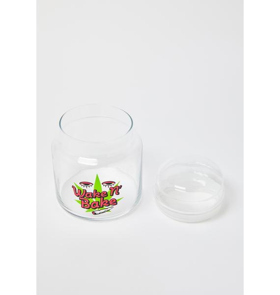 Femfetti Wake N' Bake 16 Oz Glass Canister