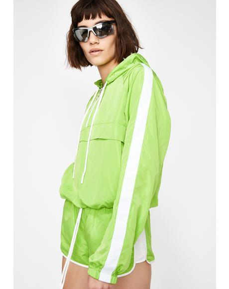 Slime Street Mood Pullover Windbreaker