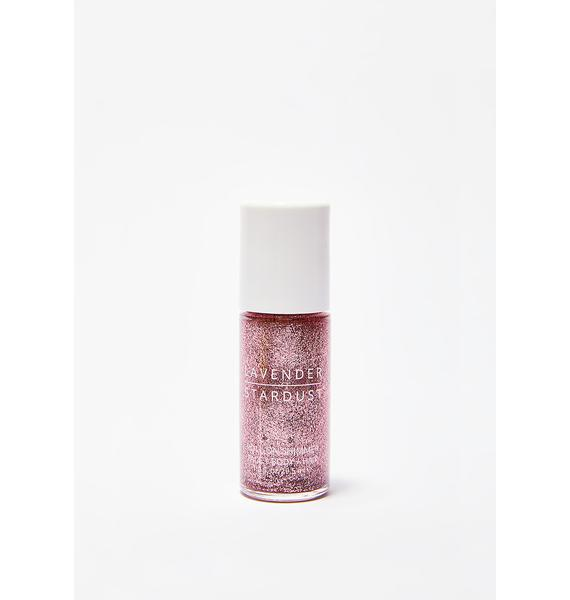 Lavender Stardust Rose Roll-On Shimmer Body Glitter