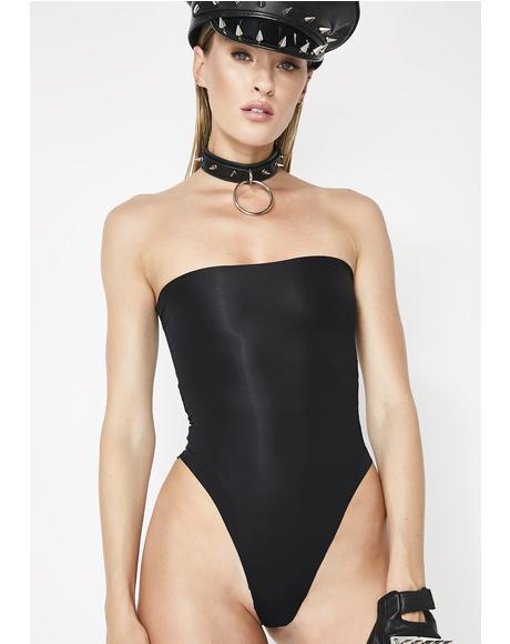 Run The Show Strapless Bodysuit