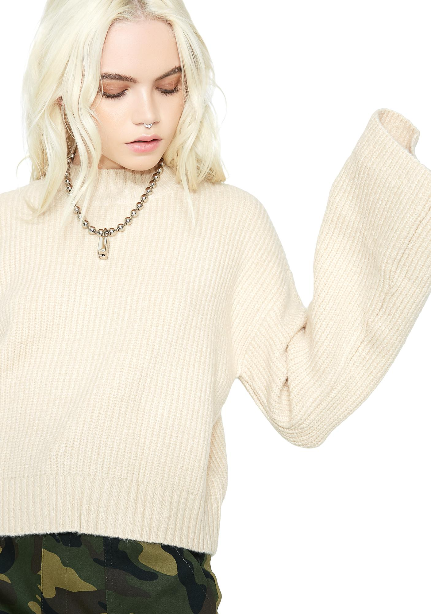 Goin' Nowhere Ribbed Sweater