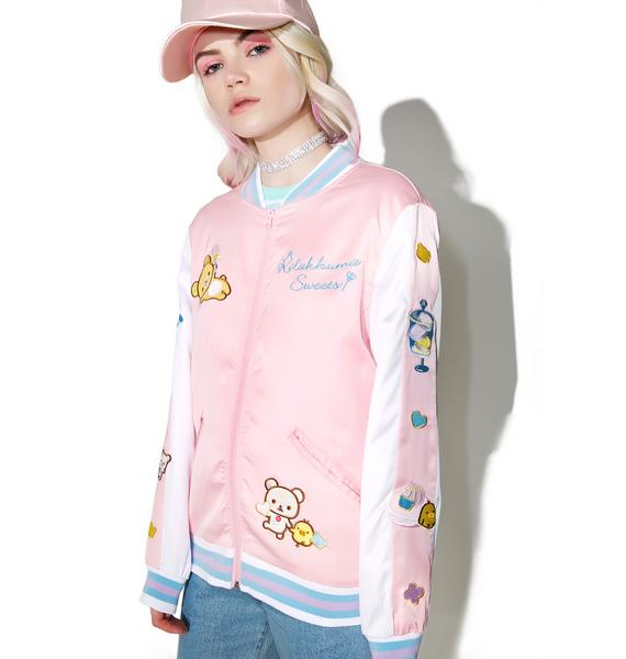Japan L.A. Rilakkuma Sweets Shop Souvenir Jacket