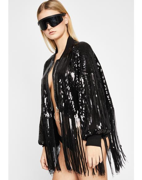 Bliss Darkwave Sequin Jacket