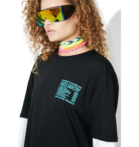 Surf is Dead Massage Tee