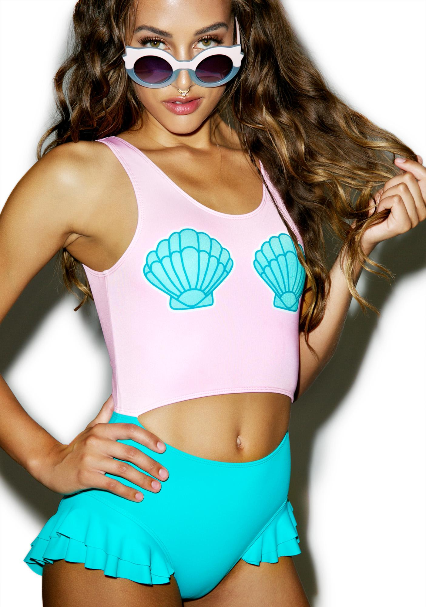 Lazy Oaf Clam Shell One Piece