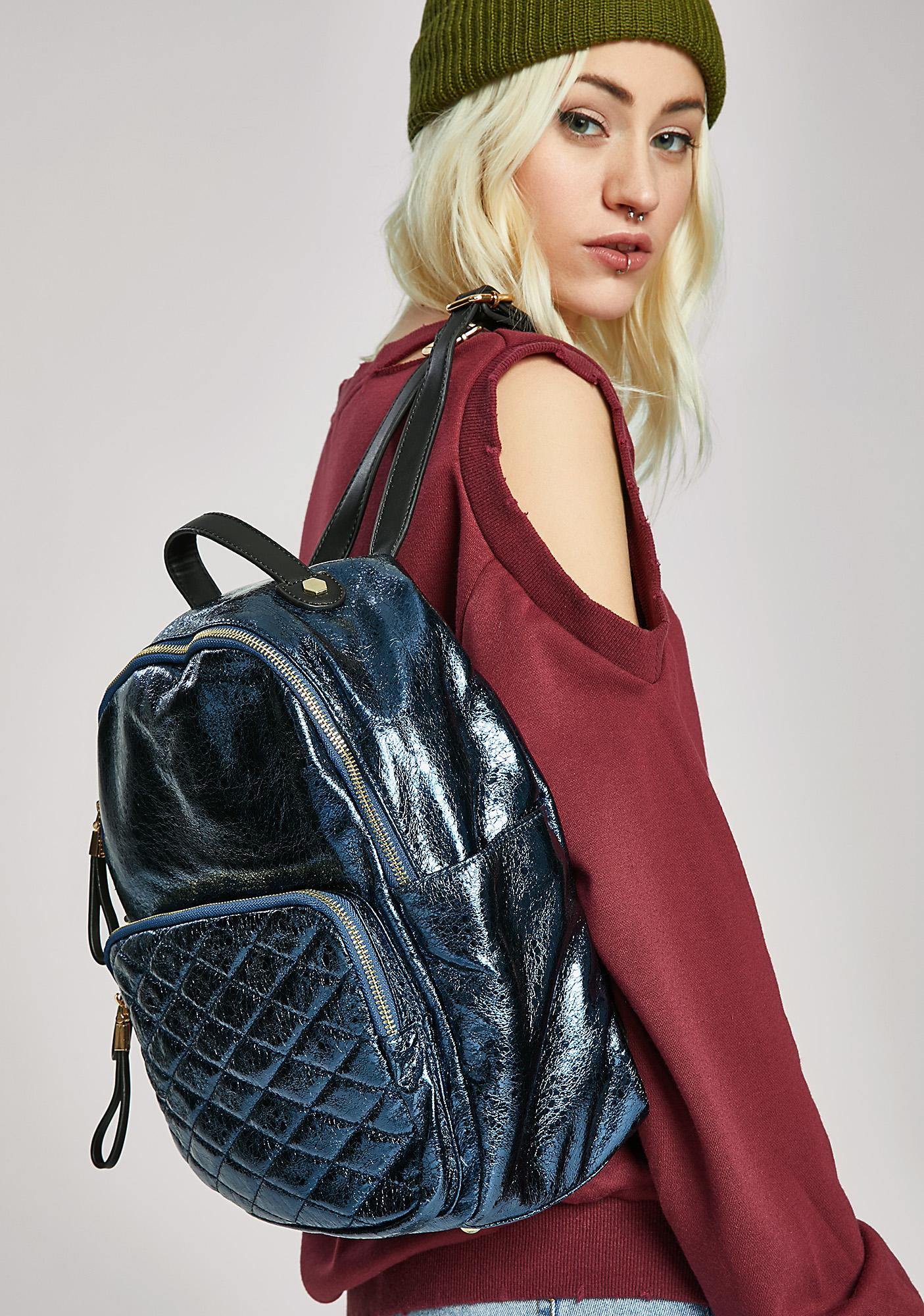 Jam Packed Quilted Backpack