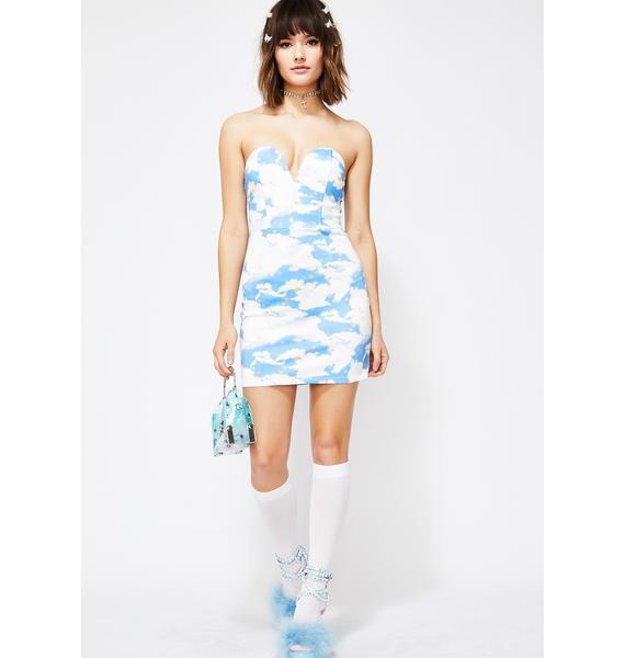 Heavenly Aura Mini Dress