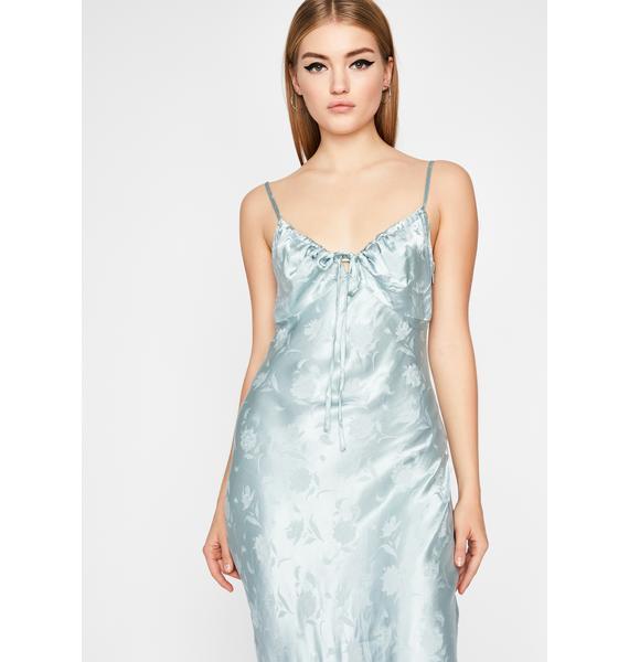 Royal Diamond Dare Midi Dress