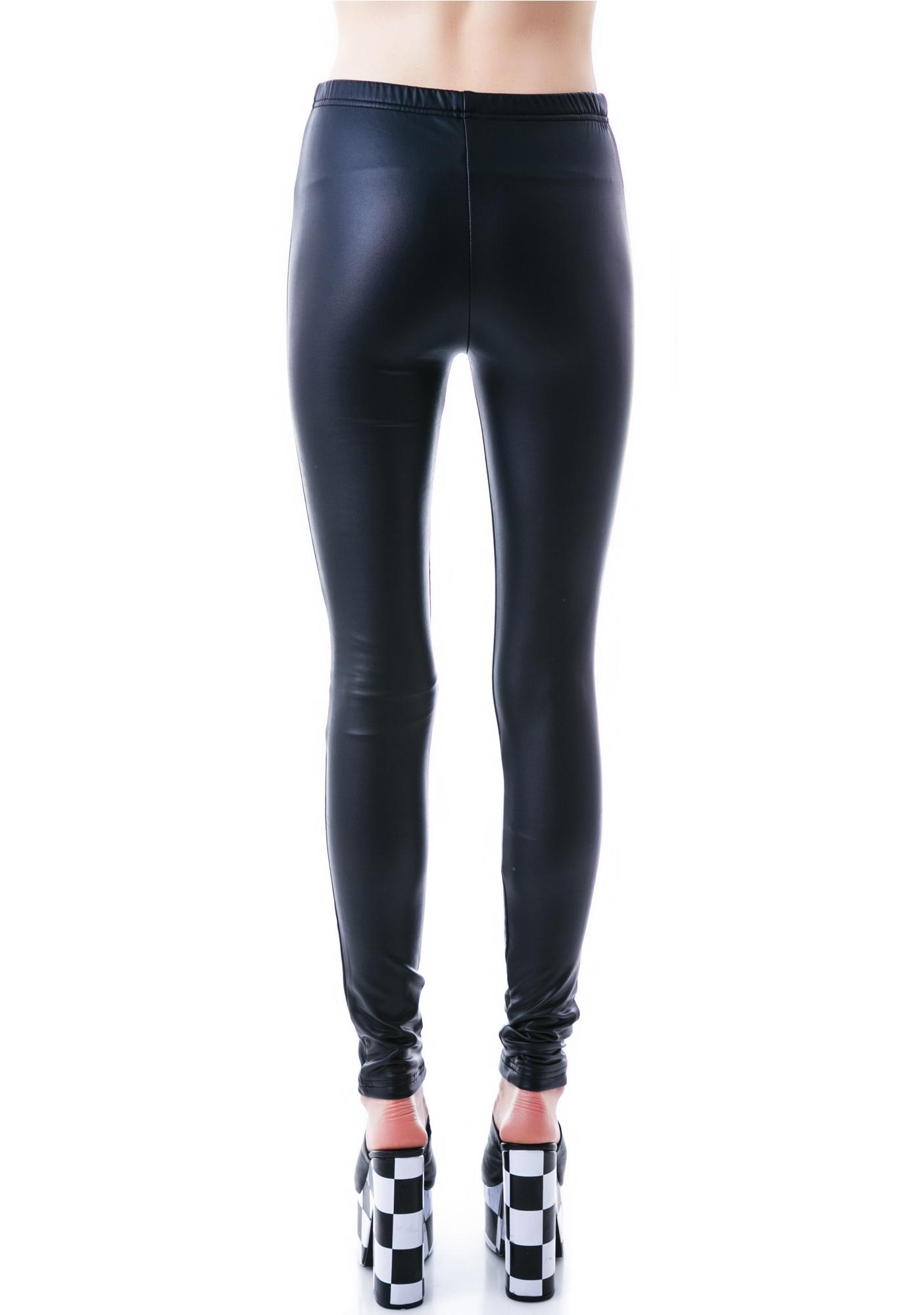 Plush Liquid Fleece Lined Leggings